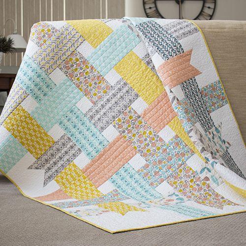 Ribbon Box Quilt - Free Pattern