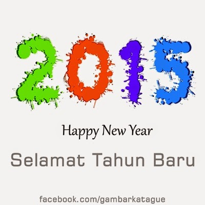 Gambar Wallpaper Kartu  Happy New Year 2015
