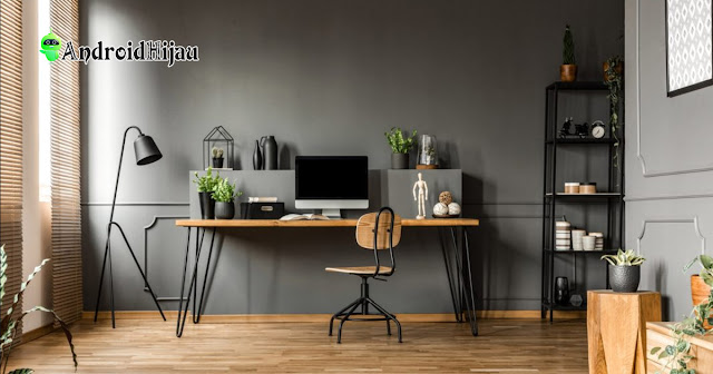 Desain home office minimalis moderen cocok buat work from home