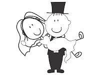 noivinhos cdr casamento vetor corel draw