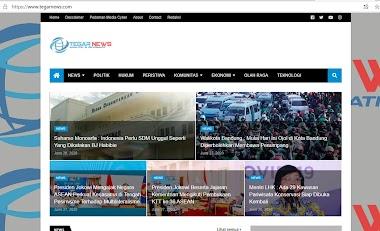 Perubahan template untuk Media online