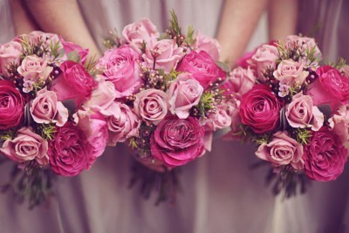 'Posy Wedding Bouquets' Make An Easily Handled Appearance
