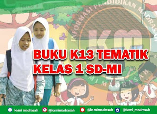 Download Buku Kelas 1 SD/MI K13 Tematik Revisi 2017