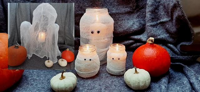 Halloween dekoracje diy