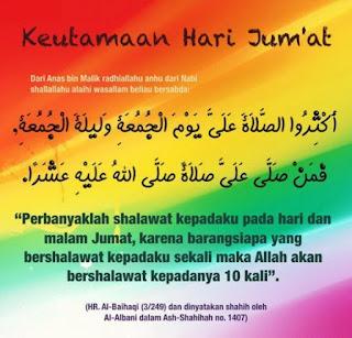 kata kata islami di hari jumat