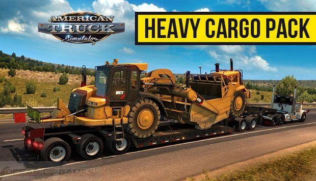 American Truck Simulator Heavy Cargo Pack Free Download