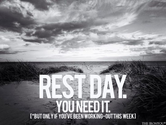 rest day where is my rest muscle