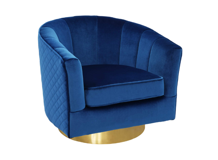 Swivel Accent Chairs, Uphostered Club Chair for Bedroom Living Room