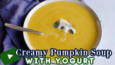youtube thumbnail for pumpkin soup
