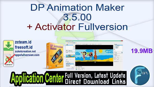 DP Animation Maker 3.5.00 + Activator Fullversion