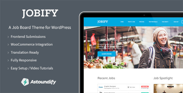 Jobify v2.0.0 and WordPress Job Board Theme
