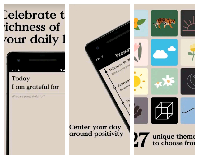 Presently - 5 Gratitude Journaling Apps To Try Today