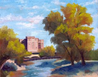 landscape oil painting by Steve Ellison - artist in Reno, Nevada
