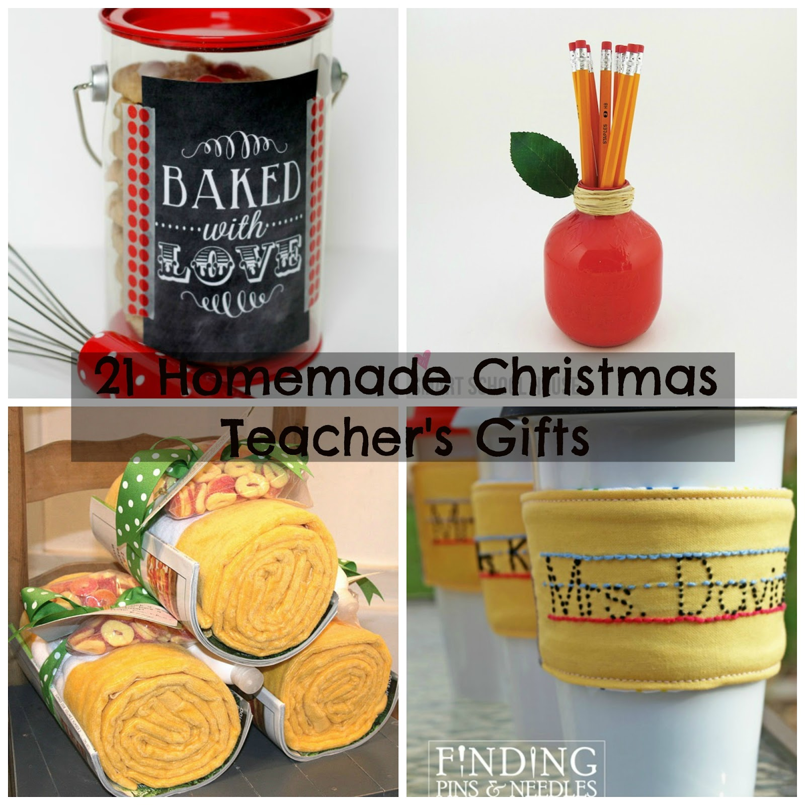 21 homemade christmas presents for teachers to get ready now