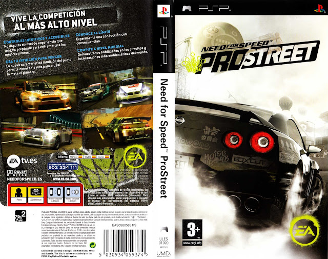 FOR PSP CSO PROSTREET NEED TÉLÉCHARGER SPEED