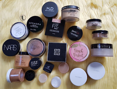 Loose Powder Collection - www.modenmakeup.com