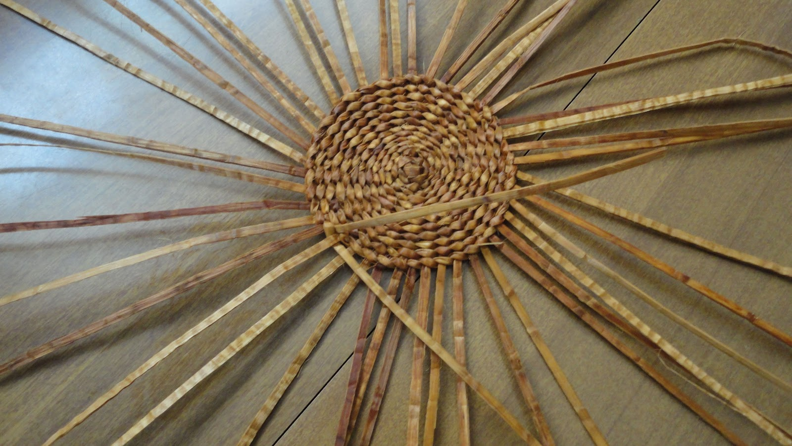 How To Weave A Cedar Basket : Giihlgiigaa haida weaver how to weave a quot spider