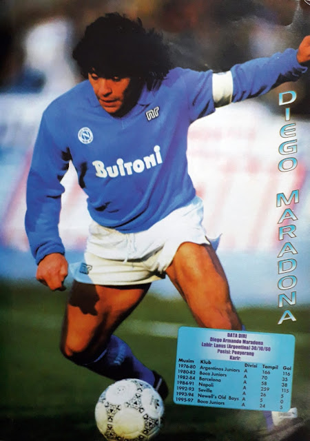 MARADONA OF NAPOLI