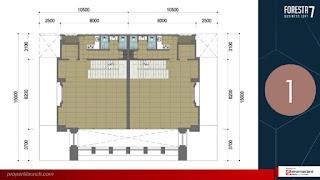 Denah Lantai FBL 7 - 1st Floor