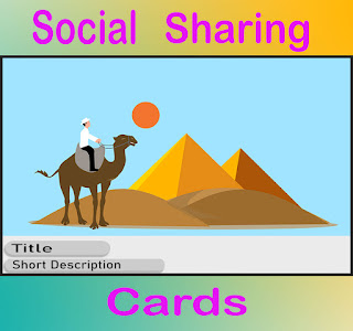 create social sharing cards