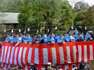 鎌倉宮の節分祭