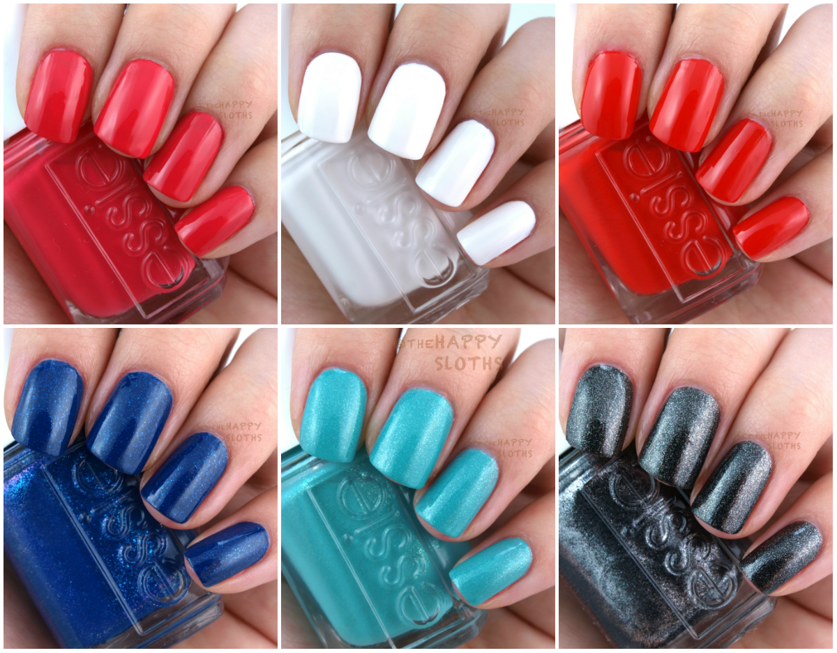 Essie Summer 2016 Collection: Review and Swatches | The Happy Sloths ...