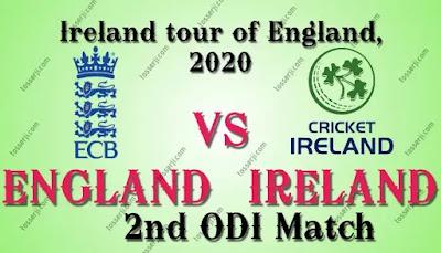 Who will win ENG vs IRE 2nd ODI Match