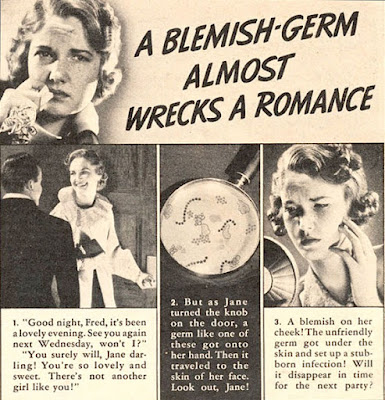 A Blemish-Germ Almost Wrecks A Romance