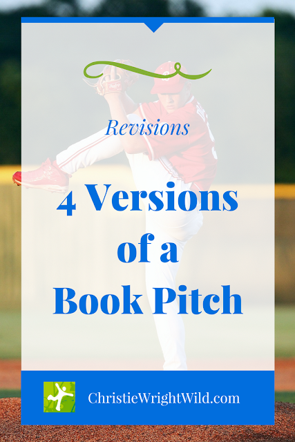 4 Versions of a Book Pitch || revisions | writing | how to write a book pitch | how to revise your book