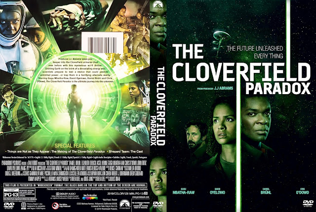 The Cloverfield Paradox DVD Cover