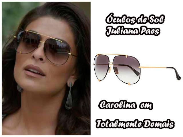 3 Óculos de Sol da Juliana Paes, a Carolina Castilho em Totalmente Demais