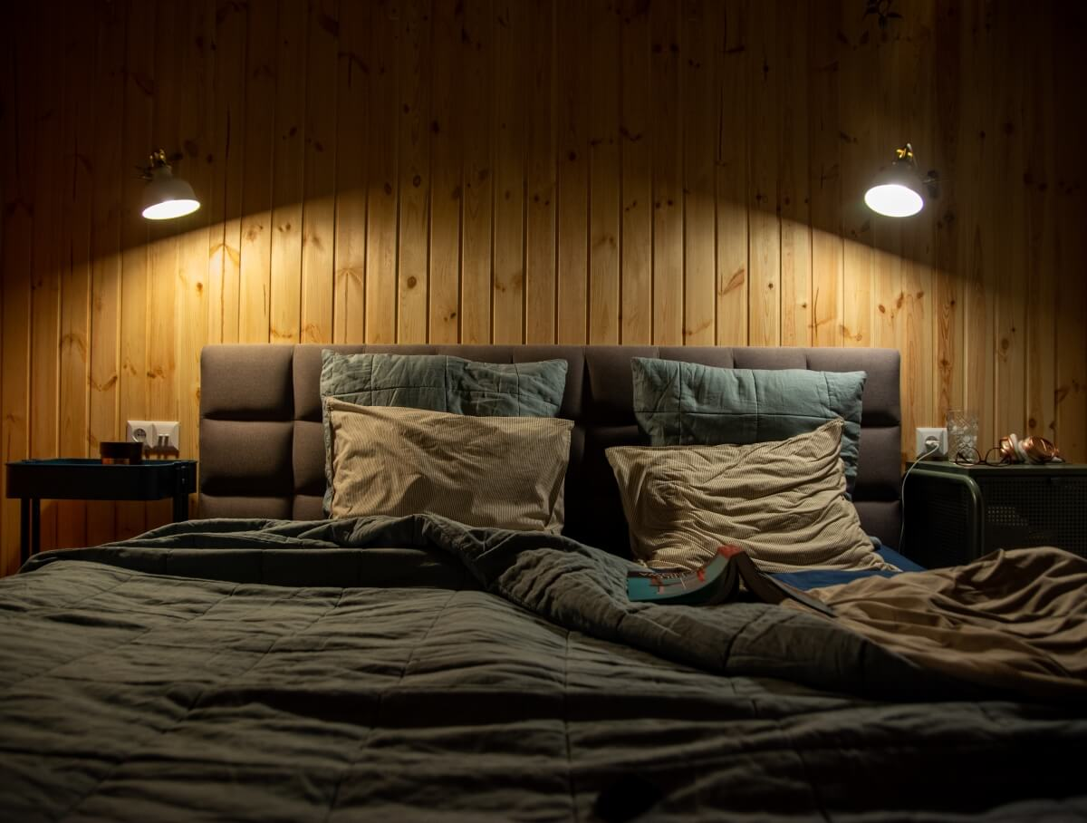 kinkiety do czytania w sypialni