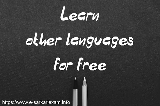 Learn other languages for free