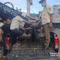 Satpol PP Inhil Evakuasi Tunawisma Yang Terlantar di Jalan Malagas