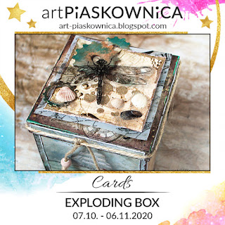 Cards - exploding box
