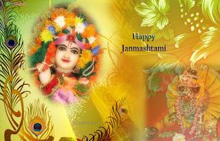 Krishna Janmashtami facebook cover