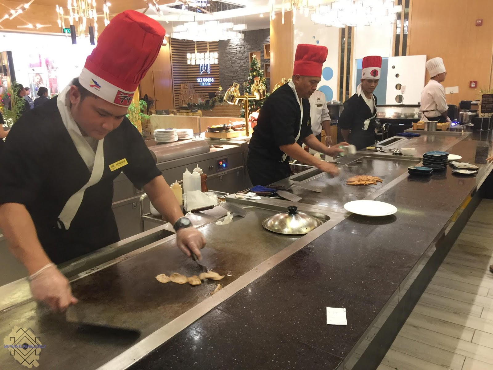 Teppanyaki section in Six Doors BBQ Buffet in Uptown Mall, BGC - WTF Food Review
