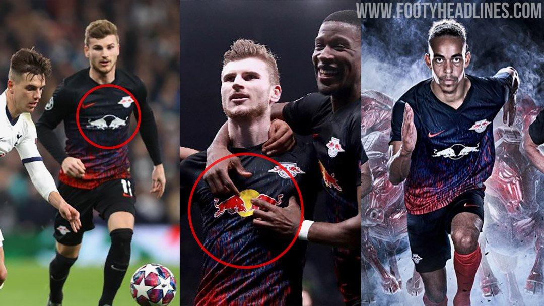 Leipzig Players Wore Wrong Shirts Vs Tottenham No Punishment By Uefa Footy Headlines