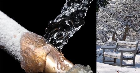 Τι να κάνω για να μην σπάσουν οι σωλήνες νερού. Συμβουλές για την αντιμετώπιση της παγωνιάς στον κήπο και το εξοχικό