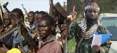 Video: Borno Youths dares Boko Haram leader, vows to kill him as they match into Sambisa Forest