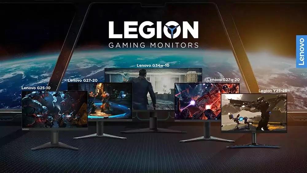 Lenovo Gaming Monitor Lineup 2021