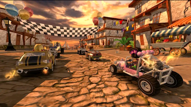 BEACH BUGGY RACING to most  downloaded android game
