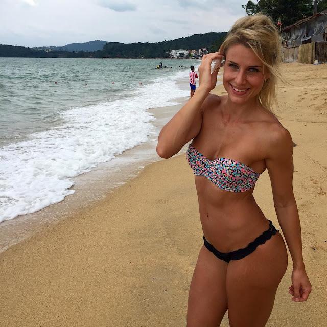 Adrienne Koleszar beach