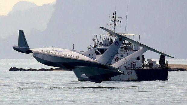 Singapura Buat Kapal yang Bisa Terbang