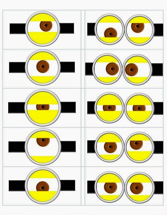 photo relating to Minion Goggles Printable identify Minions Googles, Absolutely free Printables. - Oh My Fiesta! inside of english