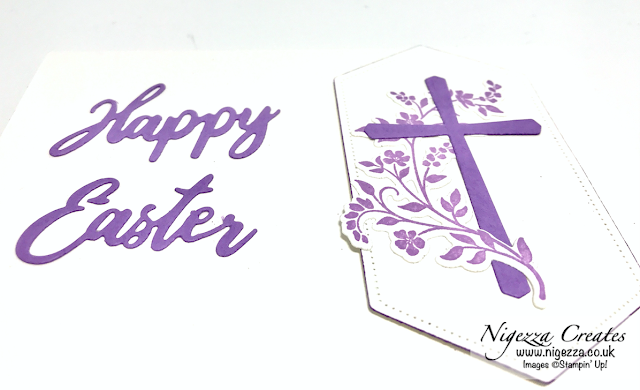 Nigezza Creates with Stampin' Up! Cross of Hope Easter Card
