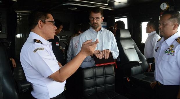 USCG Kunjungi Pangkalan Armada Bakamla RI di Barelang
