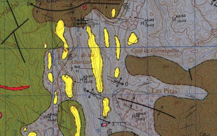 Notas cordobesas casilla con era a la orilla del arroyo de linares en el camino vecinal 51 - El olivar de albarizas ...