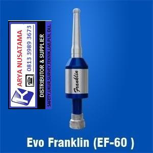 Jual Lightning Protection Evo Pranklin EF-60 di Jepara