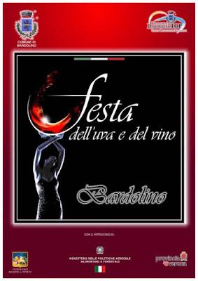 Festa dell'Uva e del Vino dal 29 settembre al 3 ottobre Bardolino (VR) 2016